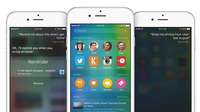 Usuarios de dispositivos Apple denuncian fallos tras actualizar a iOS 9