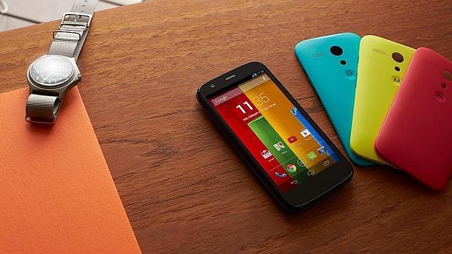 El Moto G de Motorola ya se puede ordenar en España