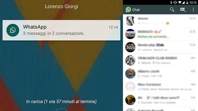WhatsApp se adapta a la estética Material Design
