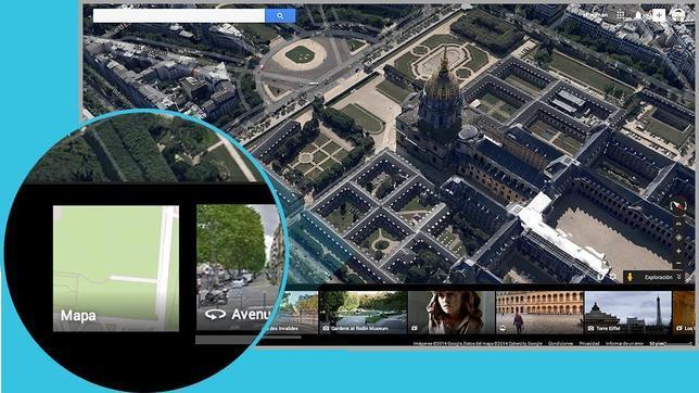 Google Maps se renueva en los ordenadores de todo el mundo