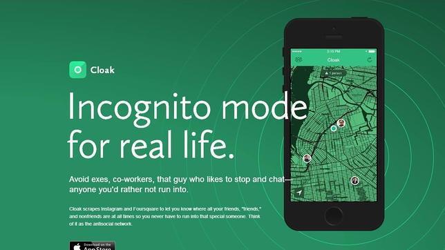 Cloak, la red social para mantenerse lejos de las amistades no deseadas