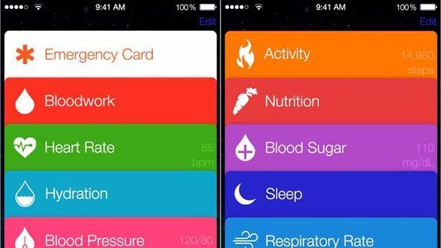 Así podrá ser Healthbook, la app «fitness» de Apple