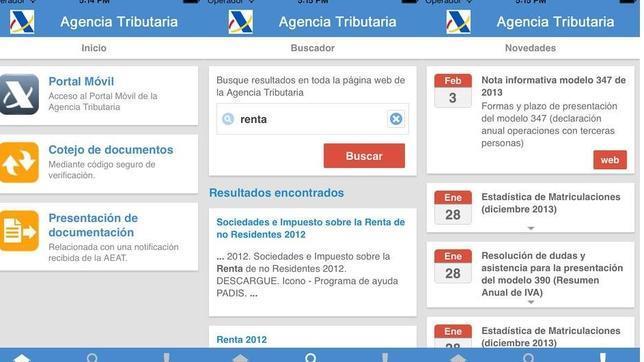 Renta 2013: una «app» para realizar la declaración de Hacienda