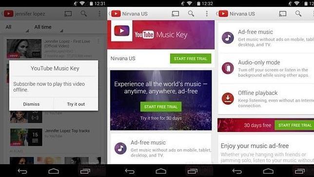 YouTube Music Key: así podría ser la apuesta de Google frente a Spotify
