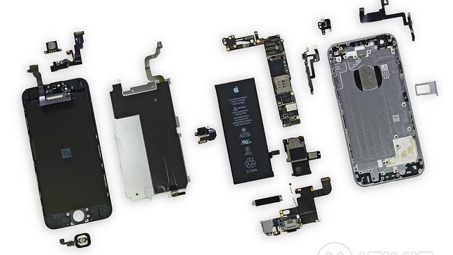 Así son las «tripas» del iPhone 6