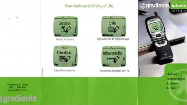 Una compañía lanza la marca «Iphone» para terminales Android en Brasil