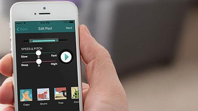 HeyHey: una «app» para mandar solo notas de voz