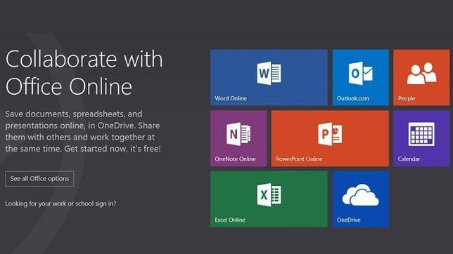 Microsoft rebautiza a Office Web Apps como Office Online