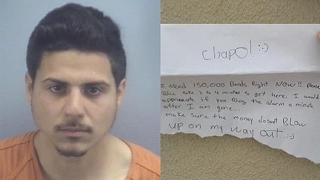 El hombre que robó un banco y colgó el vídeo en Instagram