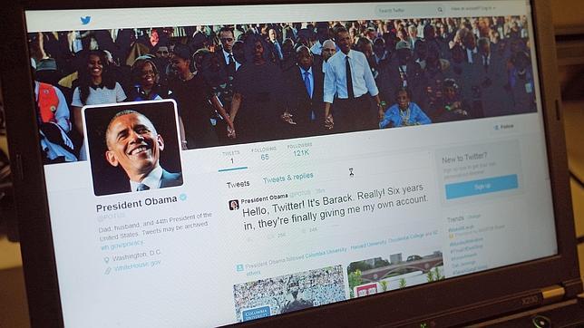 Obama supera todos los récords de Twitter al conseguir en solo 5 horas un millón de seguidores