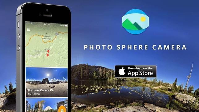 Llega a iOS la «app» de Google que permite tomar fotografías de 360º