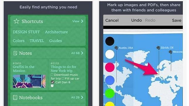 Facebook, Evernote y Vimeo se actualizan para iOS 7