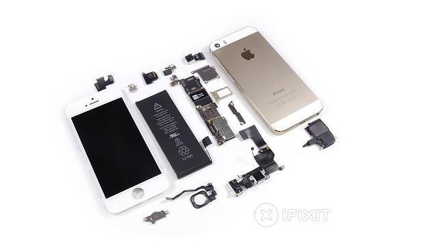Las tripas del nuevo iPhone 5S