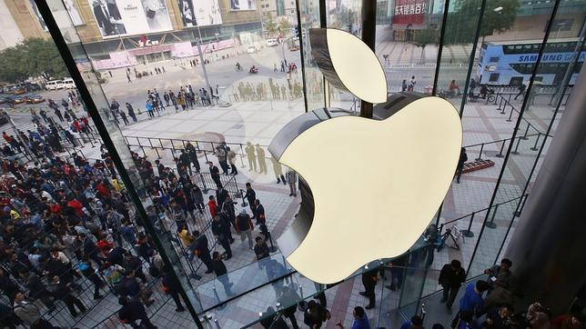 Apple abre en Pekín su tienda más grande en Asia