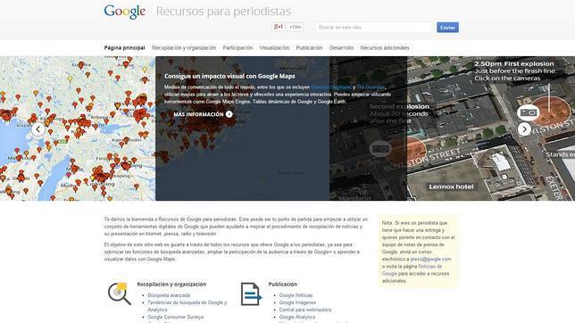 Google crea un portal que recoge herramientas para ayudar a los periodistas