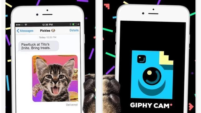 Una aplicación permite hacer gif animados de manera sencilla en iPhone
