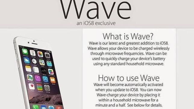 Destrozan sus i-Phone 6 tras leer en un foro que se recargan en el microondas