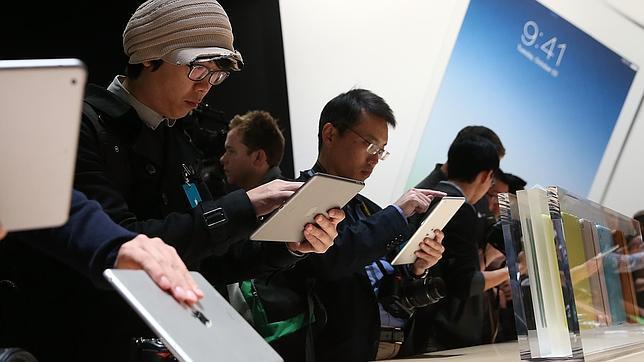 Apple trabaja en un iPad con pantalla de doce pulgadas