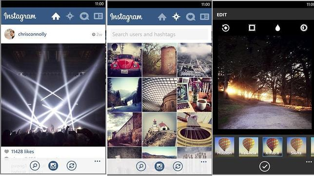 Instagram llega finalmente a Windows Phone