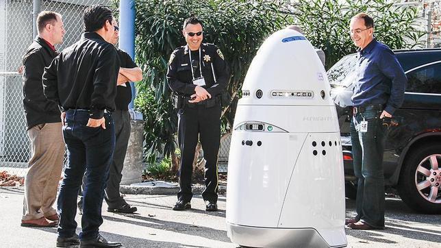 Microsoft «contrata» robots para vigilar su campus en Silicon Valley