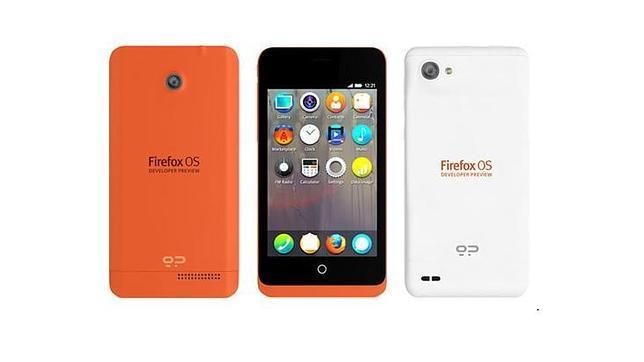 Peak y Keon, los dos primeros «smartphones» con sistema Firefox