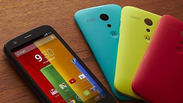Motorola pretende vender un «smartphone» por menos de 40 euros