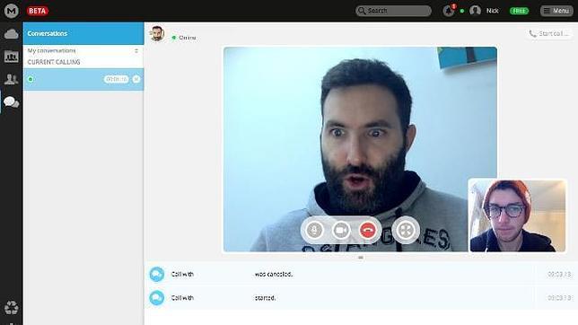 Kim Dotcom se lanza a la conquista de las videollamadas encriptadas con MegaChat