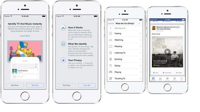 Facebook se crea su propia versión de Shazam