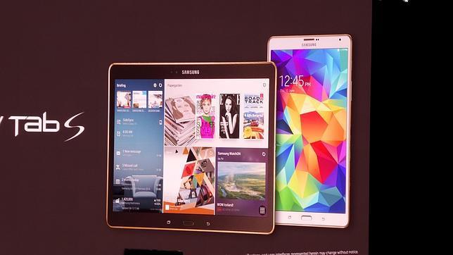 Galaxy Tab S: la «tablet» más madura de Samsung