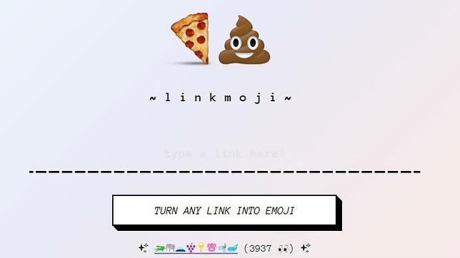 Linkmoji, el acortador de URL a base de «emojis»