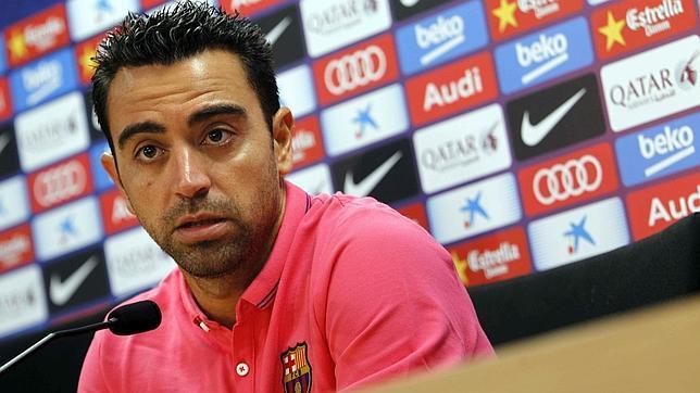 Xavi: «Si hace falta lo repito 200 veces, me quedo para sumar»