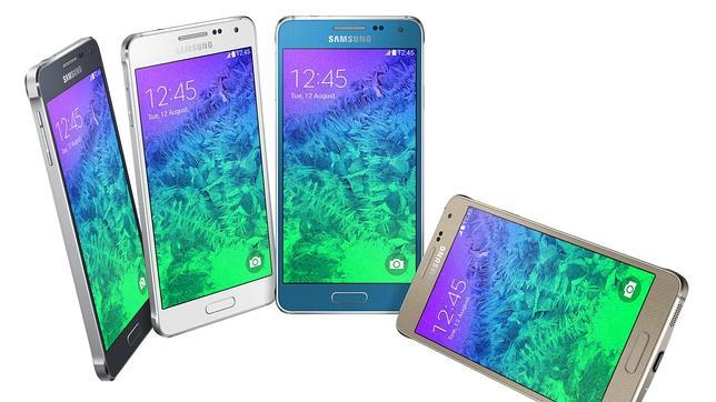 El Galaxy Alpha, el móvil metálico de Samsung, a la venta por 589 euros en Vodafone
