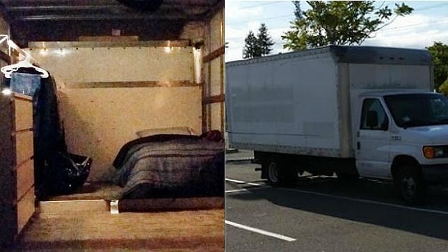 La curiosa historia del empleado de Google que vive en una furgoneta en el parking de Mountain View