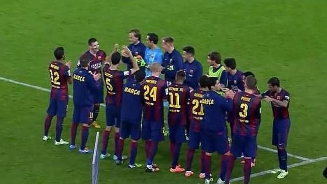 Monumental pitada a Bartomeu y Zubizarreta en el Camp Nou