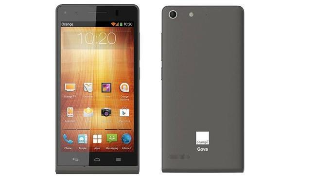 MWC 2014: Orange lanza Gova, su «smartphone» 4G marca blanca