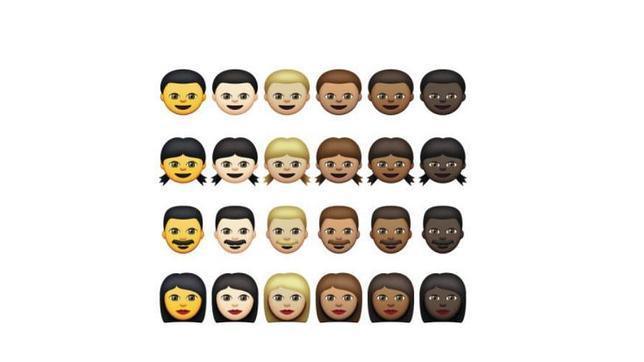 Apple ya permite usar emoticonos de mayor diversidad racial