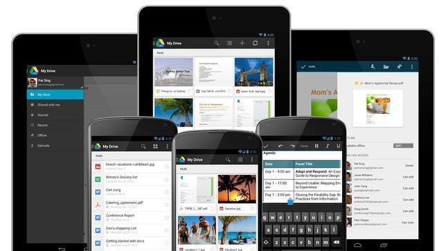 Google Drive para Android añade el escaneado de documentos