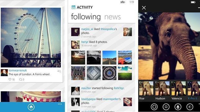 Windows Phone lanza 6tag, una «app» similar a Instagram