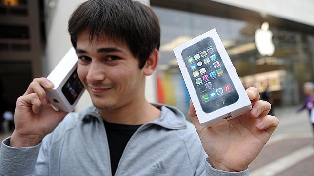 Apple vende 9 millones de iPhone 5C y iPhone 5S en su primer fin de semana