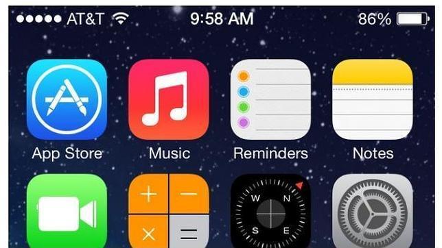 Cinco aspectos negativos de iOS 7