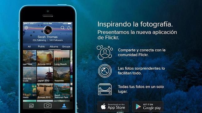 Flickr venderá imágenes en 2015