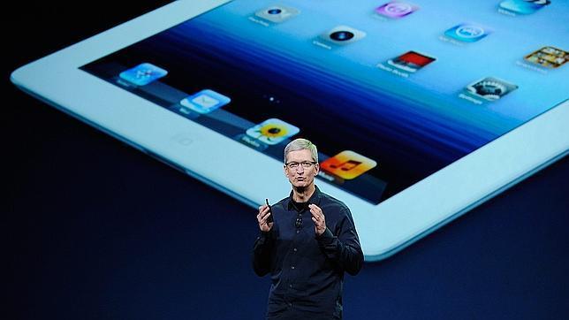 El CEO de Apple promete «grandes planes» para 2014
