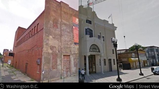 Google Street View permite a los usuarios viajar en el tiempo con su «Time Machine»