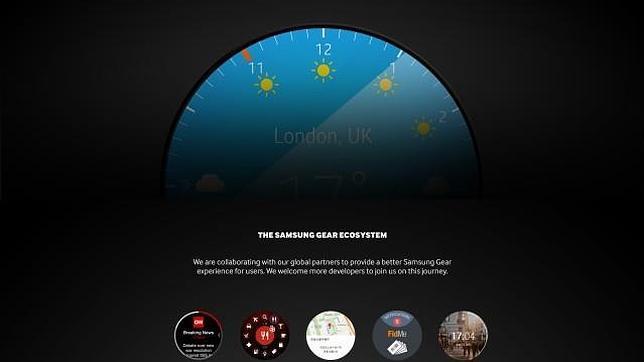 Samsung desvela un nuevo «smartwatch» de pantalla redonda