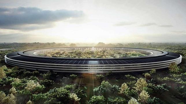 Así se ve la construcción de la «nave espacial» de Apple