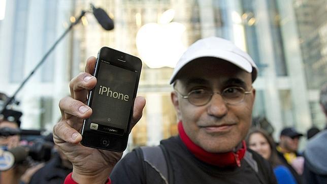 Apple vendió más de cinco millones de iPhone 5 en un fin de semana
