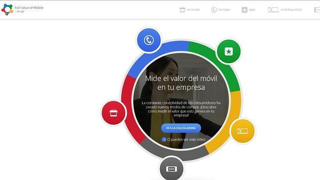 Google lanza una calculadora para analizar el valor de la publicidad en móviles