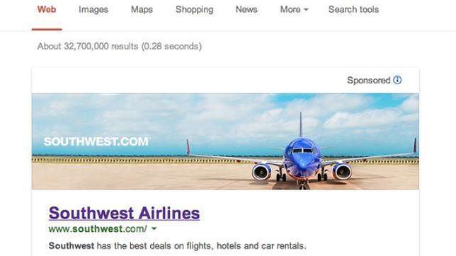 Google prueba anuncios «banner» en los resultados de las búsquedas
