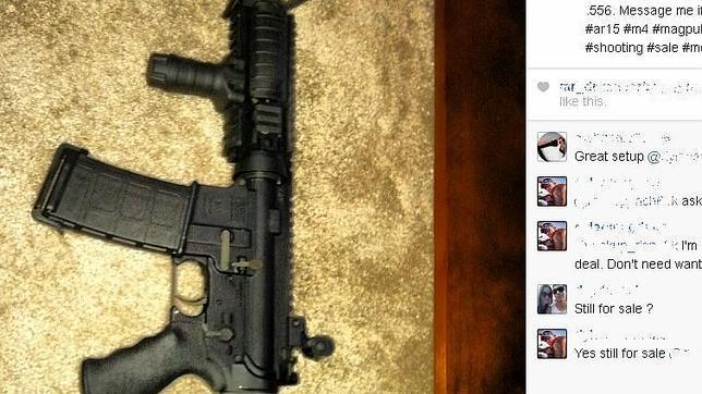 Utilizan Instagram para vender armas en Estados Unidos