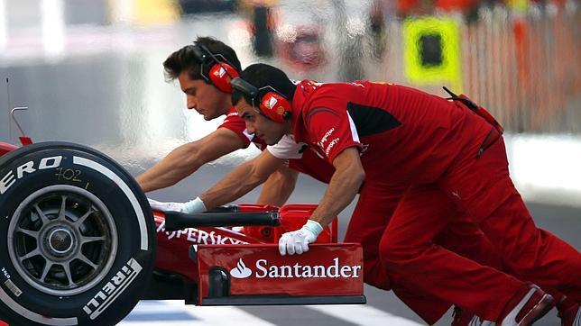 El Ferrari de 2015 es más lento que el actual